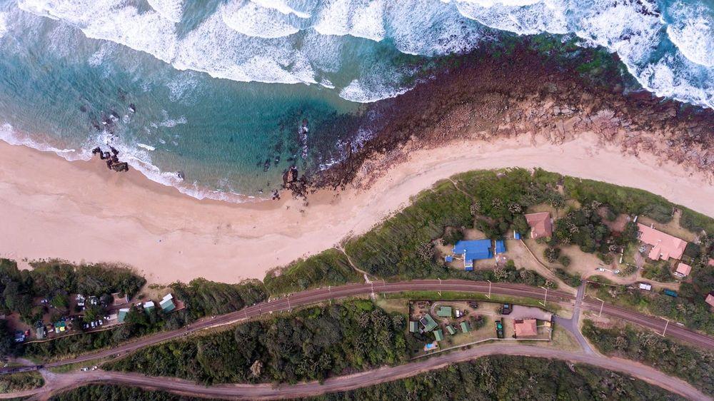 Vulamanzi Travel Destinations drone Kwazulu Natal