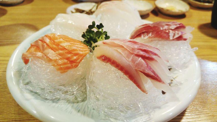 Seafood Freshness Food Fish Healthy Eating Food And Drink Raw Food Sashimi  Indoors  Table Close-up No People Sushi Cultures Sushi Sushi Time SushiBar Sasimi