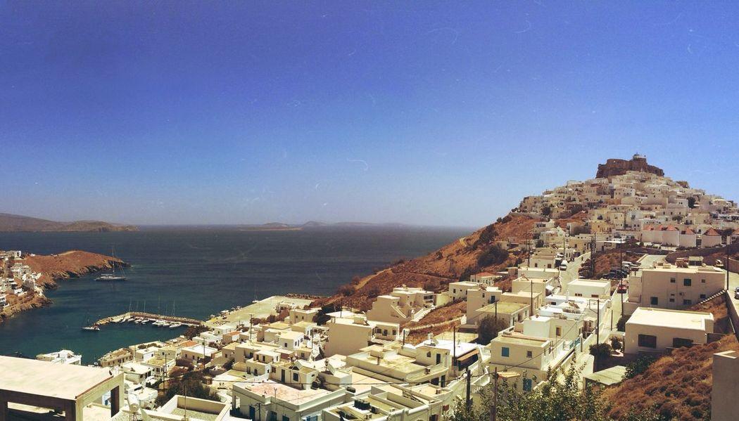 Greek Islands Landscape Sea Enjoying Life