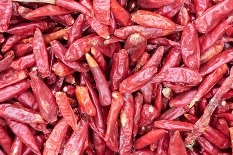 red peppers Full Frame Food And Drink Food Backgrounds Large Group Of Objects Abundance Red No People Vegetable Freshness Still Life Healthy Eating Wellbeing Pepper Chili Pepper Spice Close-up Market Retail  Raw Food Capsicum Annuum Red Peppers Dry Red Pepper Peppers SiChuan Cuisine Sichuan Food