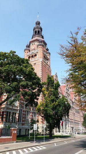 City Building Exterior Stettin