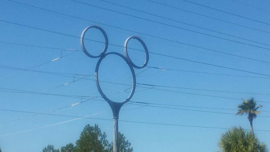 Disney Electric Tower. Took picture off of I-4. Disney EyeEm Disney Disney World Life Mickey Mouse Electric Cables Metal
