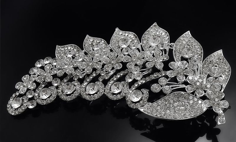 Jewellery Luxury Diamond - Gemstone Wealth Crystal Black Background Precious Gem No People Shiny Variation Close-up Jewelry Jewellery
