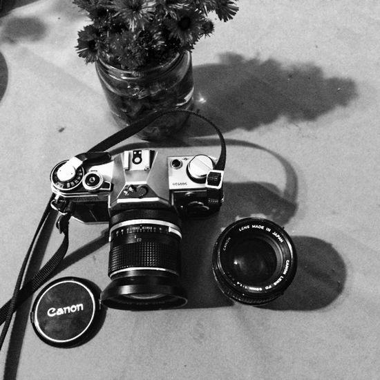 Love MyPhotography My Camera Blackandwhite Canon AE-1