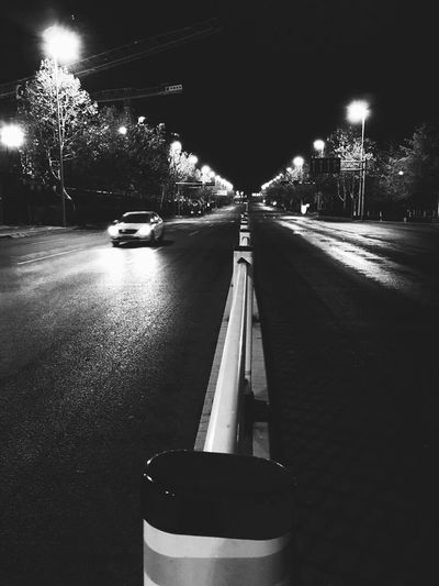 Night Street Road Blackandwhite IPhone Photography The Street Photographer - 2017 EyeEm Awards