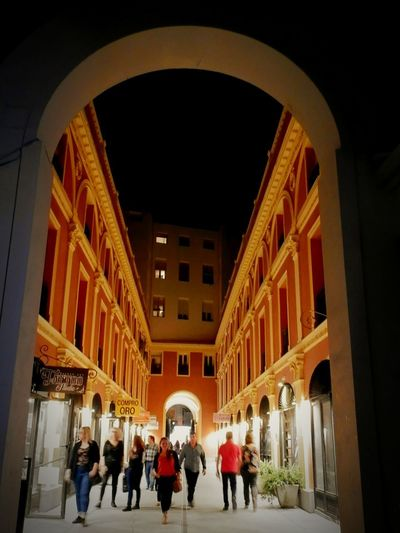 Arch Architecture Tourism Corridor City Adult Madrid Life Nightlife Outdoors City Street Light Illuminated Adults Only