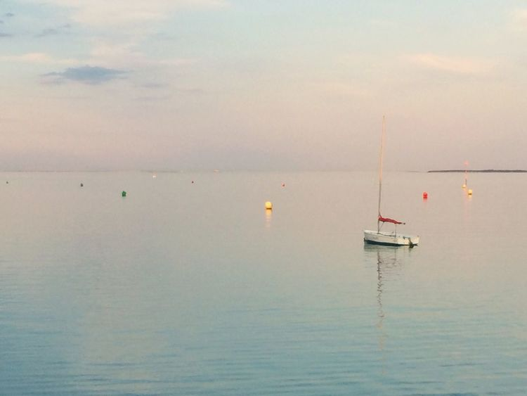 Water Sea Tranquil Scene Tranquility Sky No People Ship Horizon Over Water EyeEm Selects EyeEm New Here