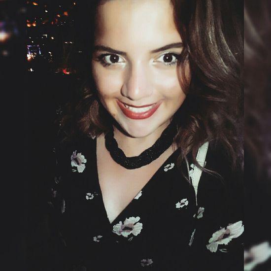 Summer Night Enjoying Life Selfie ✌ Girl