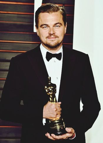 So happy when he won last night Leonardodicaprio  Oscars Oscar