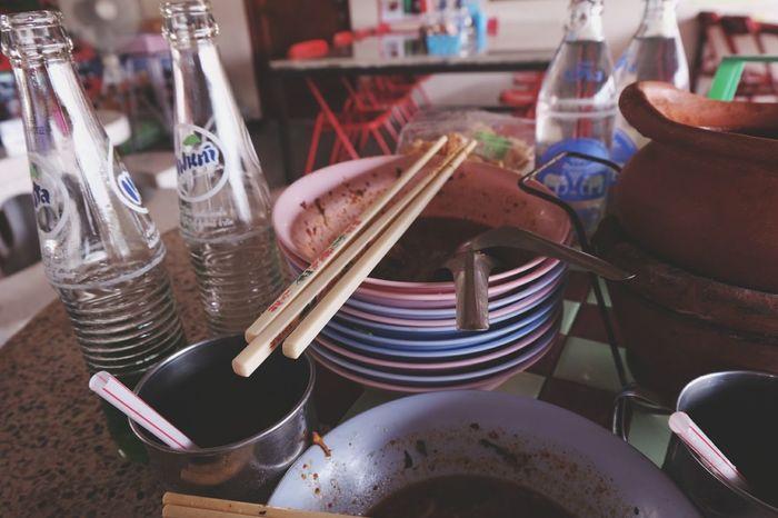 1 5 2 บ า ท 🍜Relaxing Taking Photos Enjoying Life EyeEm Best Edits Open Edit Fujifilm X-m1 EyeEm Thailand Walking Around ก๋วยเตี๋ยวนายดำ Thailand Food