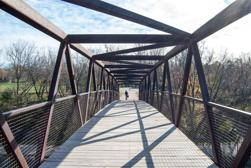 Bridge - Man Made Structure Canada Crossbar Elevated Walkway Mississauga Nature Outdoors Shadow