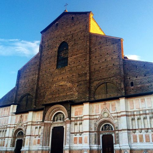 Basilica Di San Petronio Basilica Italy Bologna Architecture Piazza Maggiore Religious  Worship Petronius Gothic