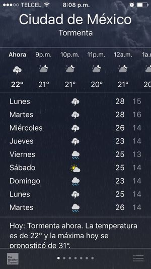 This make me very happy 🌧🌧🌧🌧 Lluvia :3 Lluvia <3 Nublado Me Gusta La Lluvia Weather Mexico City