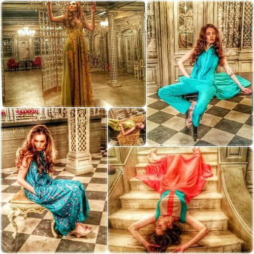 Съемки новой коллекции Данна Каримова, Elvisage Платье ДаннаКаримова Muah  makeupartist Visage Newcollection