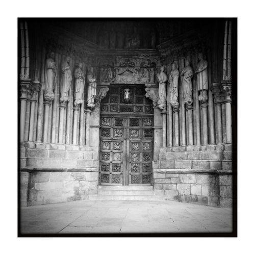 EyeEm Best Shots - Black + White Arquitecture En Catedral De Tui.