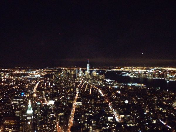 Architecture Beautiful View Built Structure City Cityscape Crowded Empire State Building Illuminated Lights In The City Modern New York City New York City Life New York ❤ Nice Evening Nice View Nice Views Night Night Time View NYC Outdoors Sky Skyscraper Travel Travel And Tourism Travel Destinations