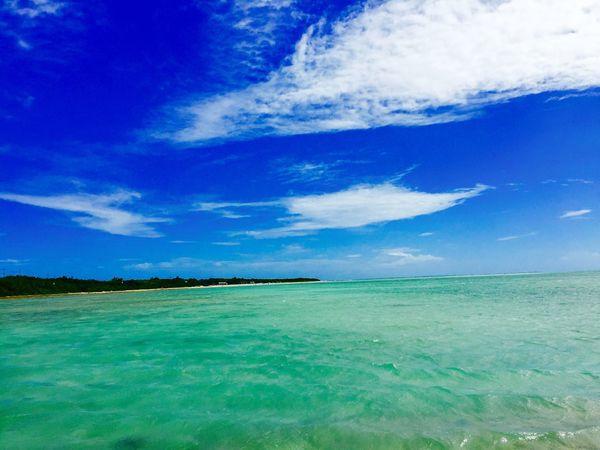 Colour Of Life Sea Ishigaki Island Japan