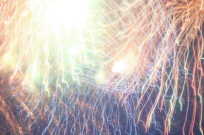 4th Of July 2016 Celebration Firework Display Fireworks Illuminated Illumination Night Sky