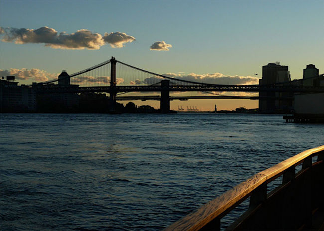 east river park Eastriverpark NYC Photography Manhattan Bridge Brooklyn View Leicalens Sunset