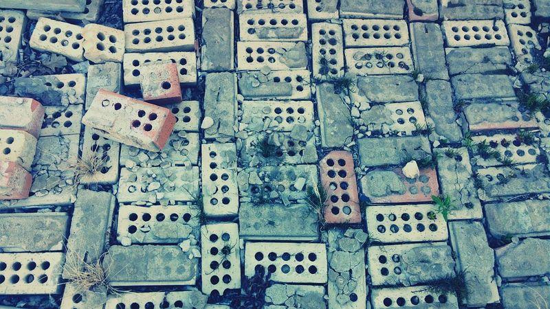Shadow Urban Crumble Bricks Back Alley Dark PhonePhotography Cloudy City