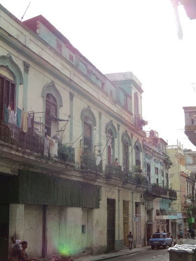 Architectural Feature Architecture Building Building Exterior Built Structure City City Life Cuba Façade Havana Havana Cuba Havana, Cuba Havana,Cuba How The Locals Live Life Through A Lens Life Through My Eyes Locals Residential Building Street Street Photography Townhouse