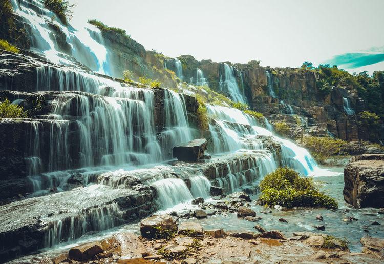 Beautiful Nature Da Lat City Nature Photography Vietnam Landscape Pongour Travel Destinations Waterfall