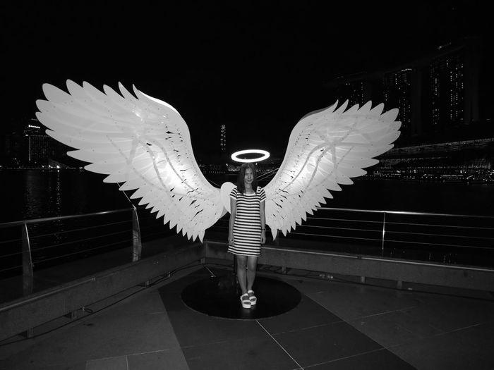 Angel Wings Wings Spread Angelwings  Ilightmarinabay ILight