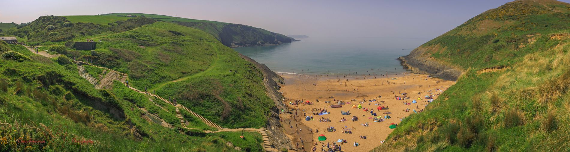 Beachphotography Cymruambyth Cymru-photography Cymru Wales UK Wales❤ Mwnt Water Land Sea Beauty In Nature Beach Nature The Great Outdoors - 2018 EyeEm Awards Tranquility Tranquil Scene High Angle View Real People Outdoors