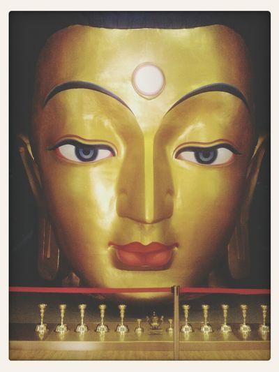 Face of Maidar. Buddha Statue Face Pieceofheaven Bighead