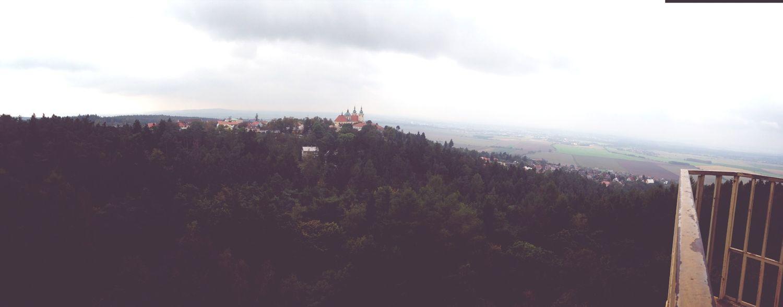 Panorama fron ZOO Olomouc Czech Republic Panorama Olomouc