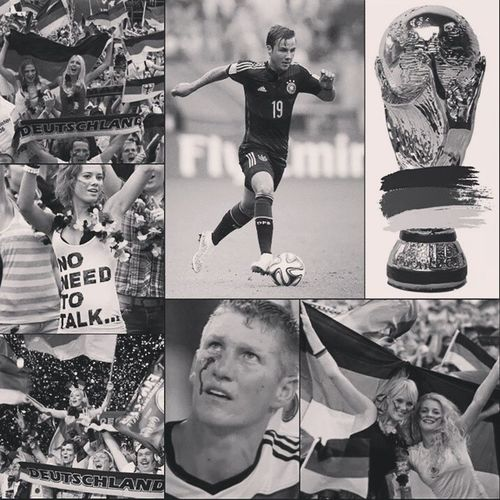 Germany vs Argentina for 2014 worldcup final nd Congrats to Germany for winning 2014 worldcup champion!! What a game waz today well Messi better luck next time! Sooomuch heartbroken but Germany made me pround!! Germany2014 Champion Wellplayed Bothteams amazinggoal by19 trophy