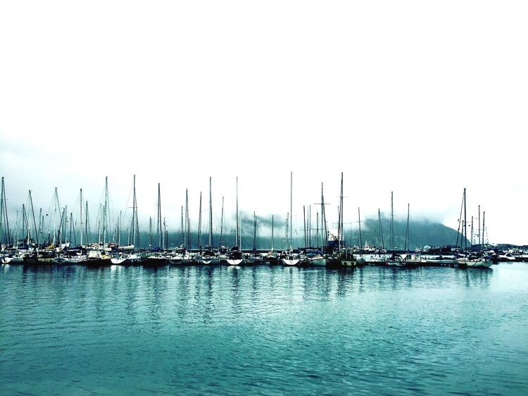 Beautiful photo from the private harbour in the Republic of Hout Bay Nautical Vessel Moored Water Mast Outdoors Sea Scenics Tranquil Scene Cloud - Sky Mountain Harbor Photooftheday