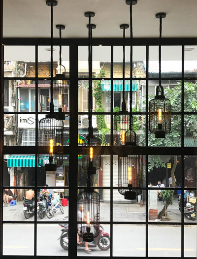 EyeEm Best Shots EyeEmNewHere Hanoi, Vietnam Travel Photography Architecture City Glass - Material Illuminated Lighting Street Photography Street Scene Travel Destinations Window