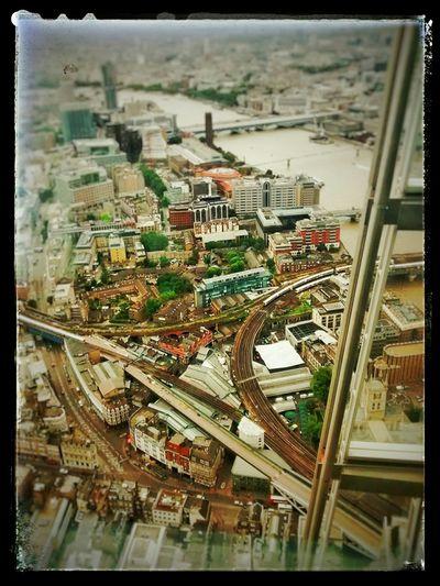 London England Viewfromtheshard Shard Urbanlandscape Citylandscape