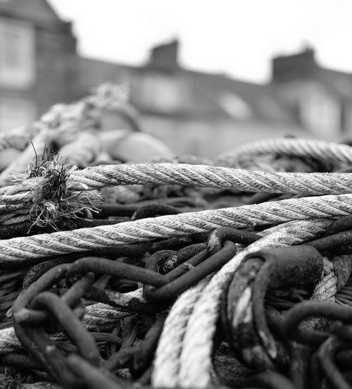 Rope Harbour Harbourside Fishing Pittenweem Fife  East Neuk Scotland Depth Of Field Black And White Blackandwhite Streetphotography Bnw Monochrome Fine Art Photography