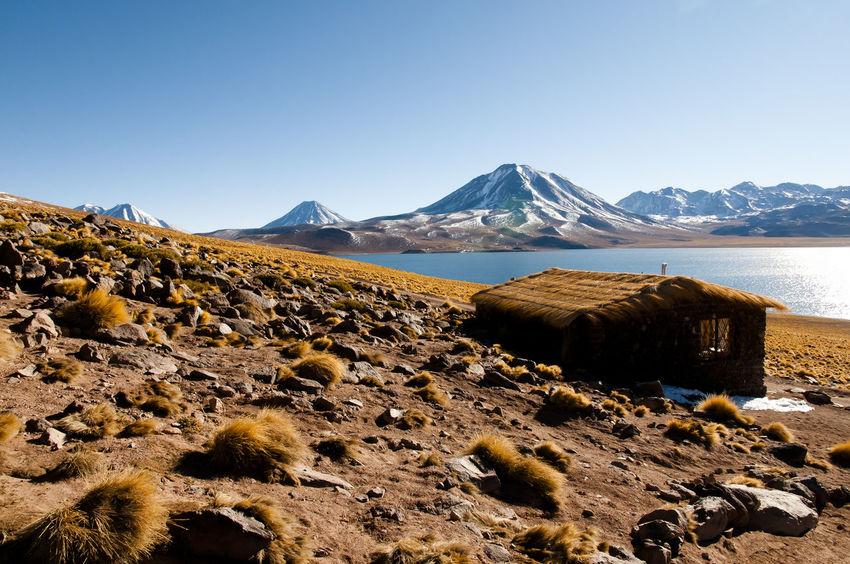 Miscanti Lagoon - Chile Chile Atacama Lagoon Lake Landscape Miscanti Mountain Range Nature Rock - Object