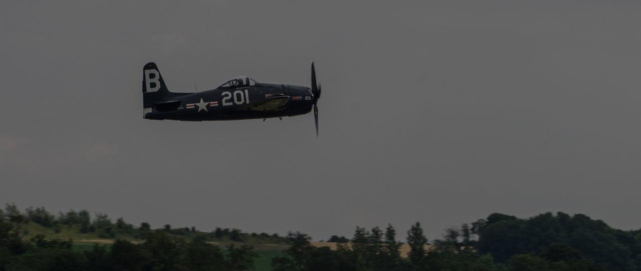 Grumman Bearcat Duxford Air Show Duxford Imperial War Museum Plane Raw SONY A7ii Aircraft Wing French Manfrottobefree Spotter Warbird Ww2 Zeiss