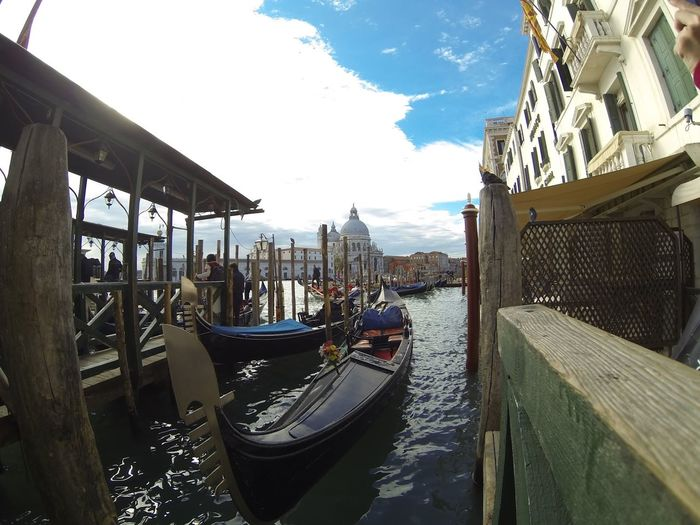 Boat Canal Gondola Mode Of Transport Nautical Vessel Outdoors Transportation Veneza Venezia Water Waterfront
