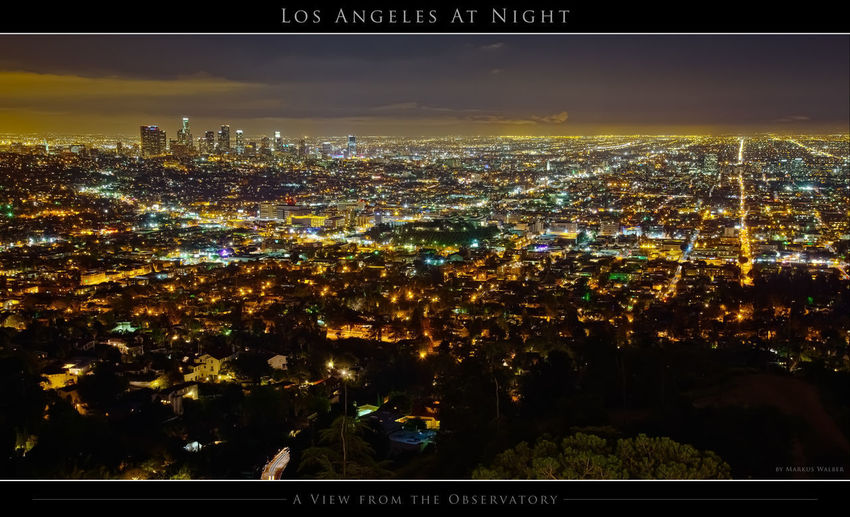 Los Angeles from the Observatory at night California Dowtown Los Angeles Griffith Observatory Griffith Park HDR Hanging Out Hills Hollywood Hills Los Angeles, California Nightphotography Observatory USA View Architecture Building Exterior City Cityscape Illuminated Night No People Outdoors Sky Skyscraper Travel Destinations EyeEmNewHere California Dreamin