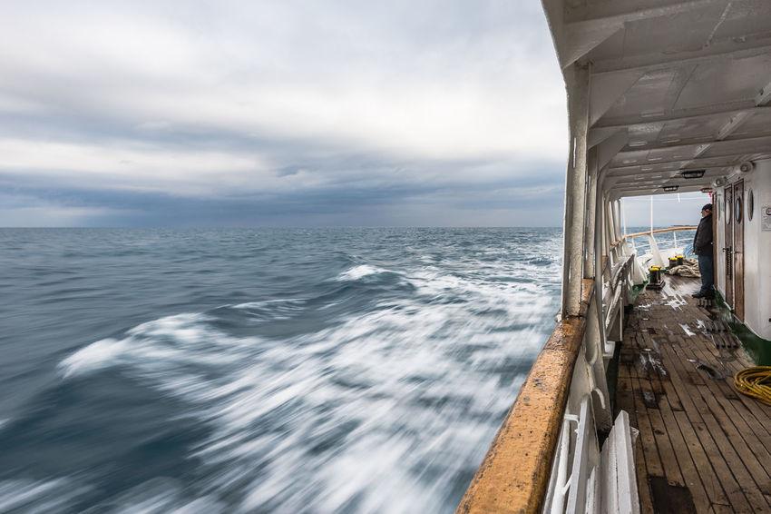 Cloudy Croatia Horizon Over Water Mali Lošinj My Commute My Commute-2016 EyeEm Photography Awards Rippled Sea Seascape Susak Travel Destinations Water Wave