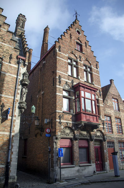 Architecture Belgium Brick Wall Building Exterior Built Structure City Day No People Outdoors