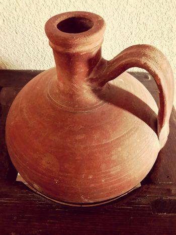 Pots Brown Amphoras Old Antique Memories Indoors  Mud