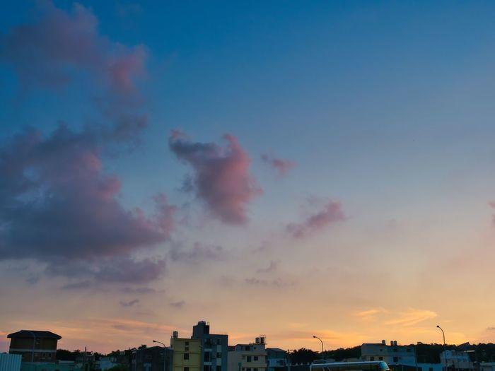 Sunset Olympus
