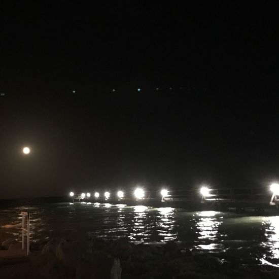 The Week On EyeEm Water Illuminated Sea Night Outdoors Nature Scenics Beauty In Nature Nightphotography Lights In The Dark After Dark Lightsonwater Moonlight Reflections In The Water Reflection_collection Rockport Texas Before Hurricane Harvey