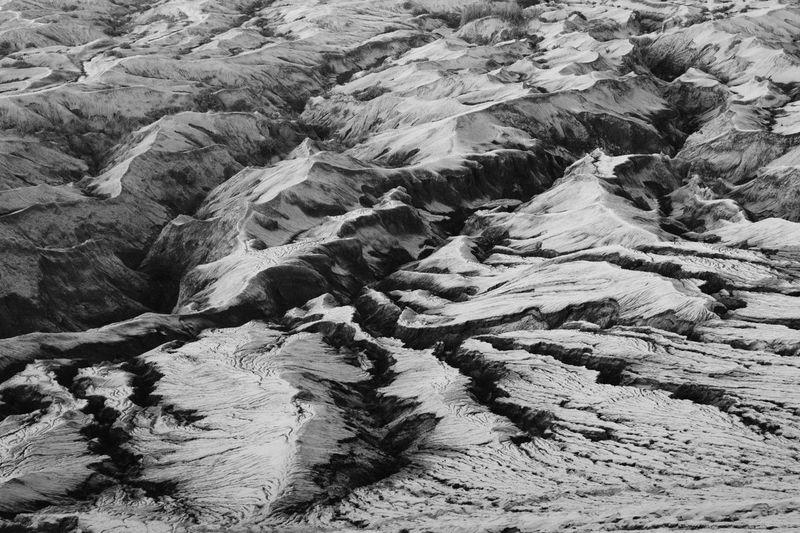Full frame shot of rocks on land
