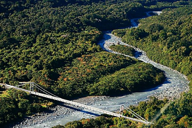 The Journey Is The Destination Nature Newzealand Travel Helicopter View  Bridge Discovernewzealand River