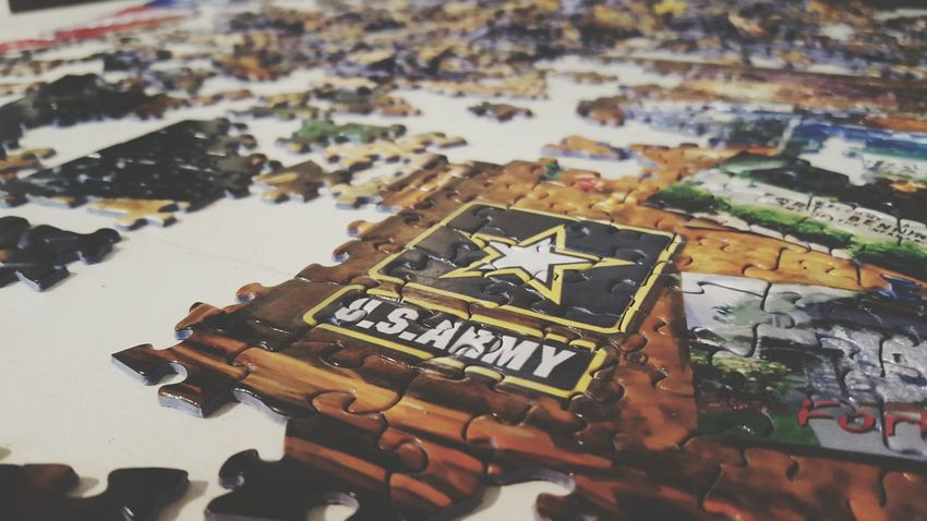 Army Army Strong United States Army Pieces Pieces Of Me Puzzle  Puzzles Puzzle Time Puzzle Pieces Rainy Days Pieces Of A Puzzle Down Time  Hobby Hobbyphotography Off Work Stimulating Stimulating My Mind Waiting Out The Rain Waiting Out This Rain Relaxing Therapy Calming Hobbyist Hobbies Hobbyphotographer