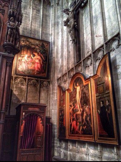 Notre Dame du Sablon Brussels Religion Traveling