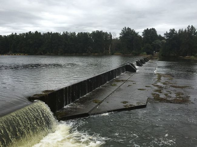 Penrith great River Walk Daytime Water Weir