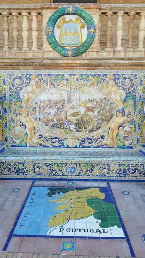 Pontevedra near of my country Portugal 😊😊 Roadtripandaluzia Wall Painting History Lesson History Place Pontevedra Portugal